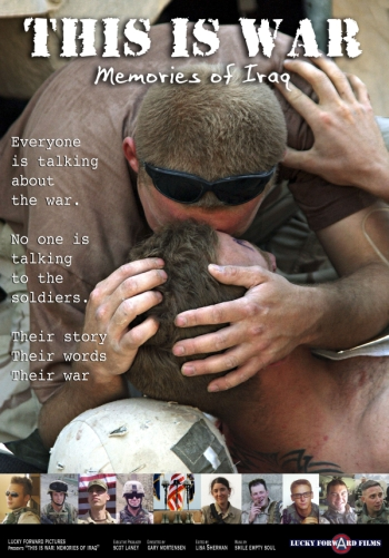 Poster for the documentary release of This is War
