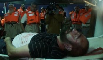 Casualty aboard the Mavi Marmara