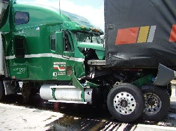 fatal crash involving commercial trucks on I-5 in Oregon near Springfield 6-14-09
