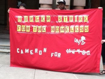 Cameron Whitten hunger strike