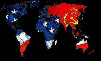 Cold War map