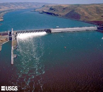 John Day Dam, Columbia River