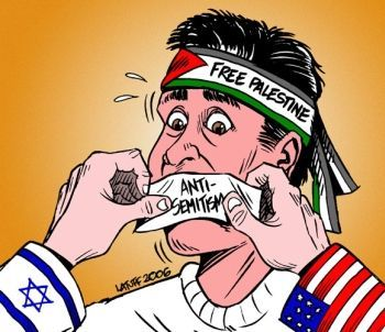 Anti-free speech against Israel