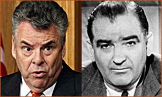 Rep. Peter King and Sen. Eugene McCarthy.