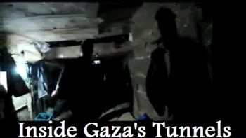 Shot inside Gaza's tunnel