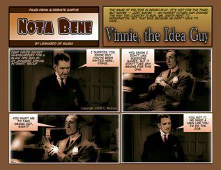 Nota Bene by Leonardo No. 84 Vinnie, the Idea Guy