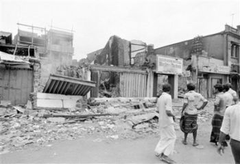 1983 riots in Colombo Sri Lanka aftermath