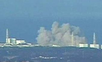 Reactor heart in Fukushima perhaps dissolving, radioactive cloud