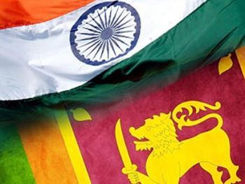 India and Sri Lanka flag