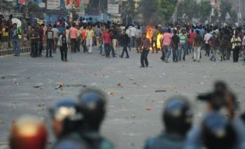 Protests in Bangladesh