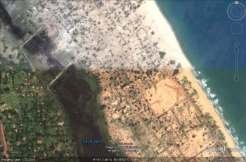 Peninsula in north Sri Lanka, is where the notorious Tamil ethnic cleansing took place
