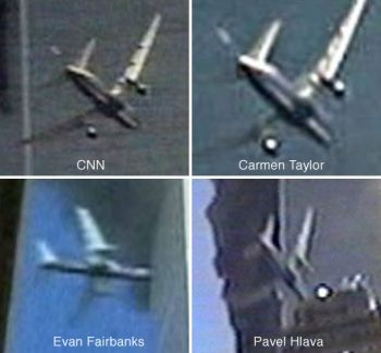 Views of flight 175