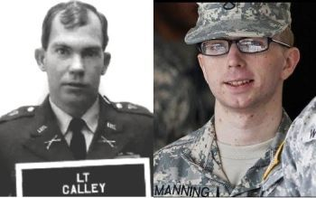 William Calley and Bradley Manning