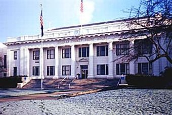 The Douglas County Oregon Court in Roseburg