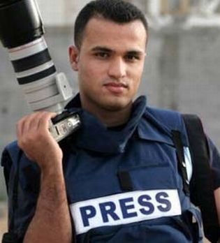 Palestinian journalist Mohammed Omer was denied entry to the U.S. for a scheduled tour, and was beaten by the Israeli military and hospitalized upon his return to the Middle east.