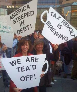 tea party march 25th