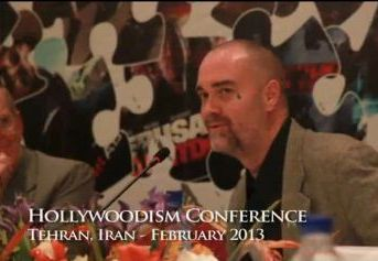 Ken O'Keefe at the Hollysoodism conference in Tehran