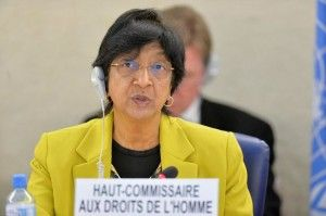 UNHRC Chief Navi Pillay