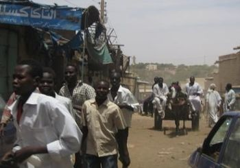 Protesters in Darfur