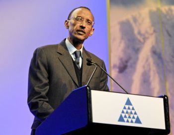 Paul Kagame, President of Rwanda, is the prime suspect in the country's Genocide that devastated humans in the mid-1990's.