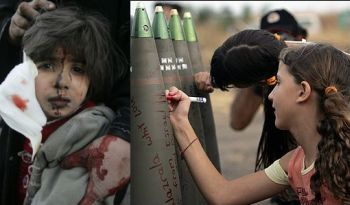 Israeli and Gaza kids