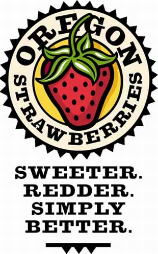 Oregon Strawberries logo