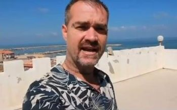 Ken O'Keefe in Gaza