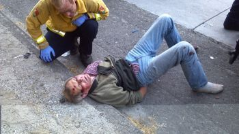 Witnesses say David Silva was beaten to death by nine deputies in Bakersfield, California.