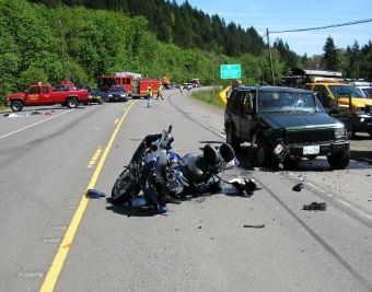 Fatal motorcycle crash near Banks, Oregon 5-16-08
