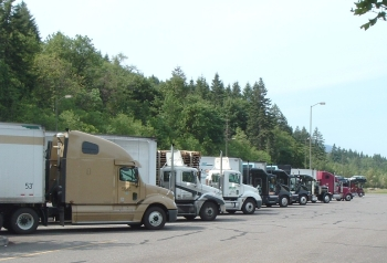 75 percent of commercial trucks fail odot inspection for Oregon department of motor vehicles salem or