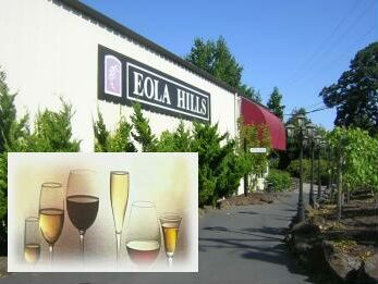 Eola Hills Winery in Rickreall, Oregon