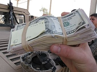 Funds used to pay the Sons of Iraq in 2008