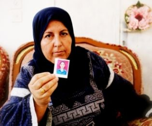 This woman's young son was taken by the Israelis and never seen again.