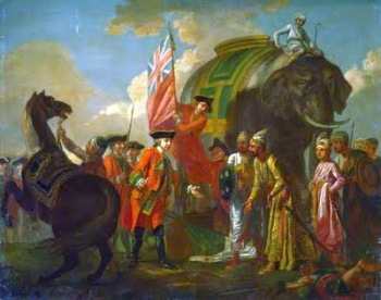 Robert Clive after the Battle of Plassey