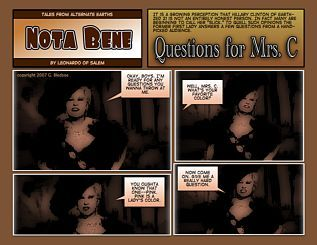 Nota Bene #69 Questions for Mrs. C