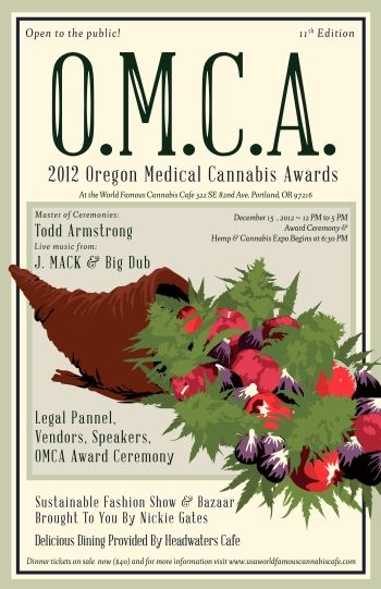 Oregon medical cannabis awards