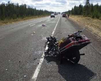 Fatal motorcycle crash 10-2-09 in Oregon, involving two Reno men