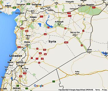 Turkish conspiracy to create a buffer zone in the north of syria syria map google gumiabroncs Gallery