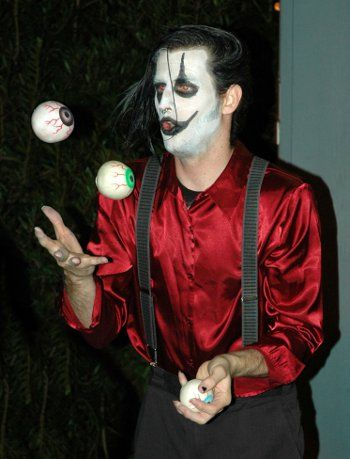 A ghoul juggles eyeballs at Creatures of the Night Photo by Cindy Hanson