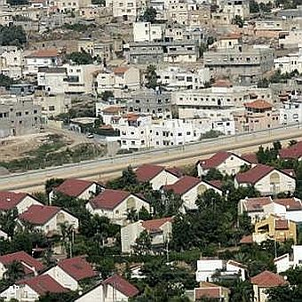 One of the settlement colonies in Israel