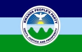 Flag of the Rwanda People's Party.
