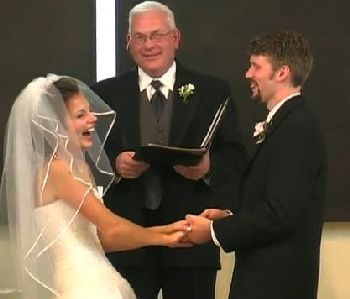 Hilarious wedding vows