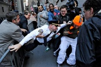 Violence on Wall Street