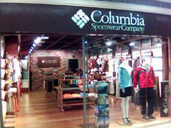 Columbia clothing stores. Clothing stores