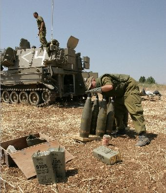 IDF soldiers and their bombs by Dexter Phoenix Salem-News.com