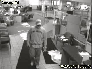 MAPS Credit Union Robbery Suspect