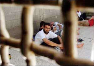 8,000 still languish in the Israeli prison system, denied the rights Jews receive, they are violated human beings.