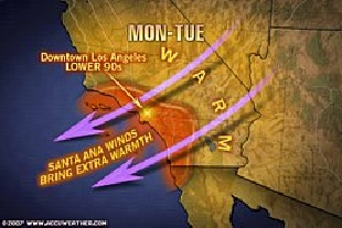 Damaging winds continue in southern california salem news com