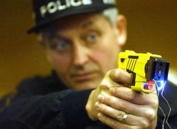 Tasers are made in the USA and exported to many countries.