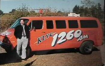 Tim King in 1991 as the News Director of KLYC